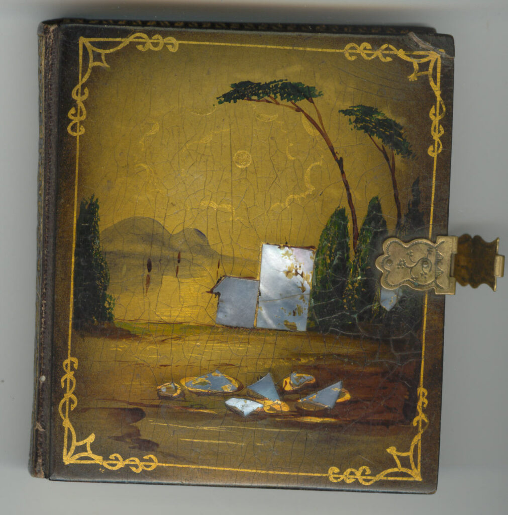case for woman and vase